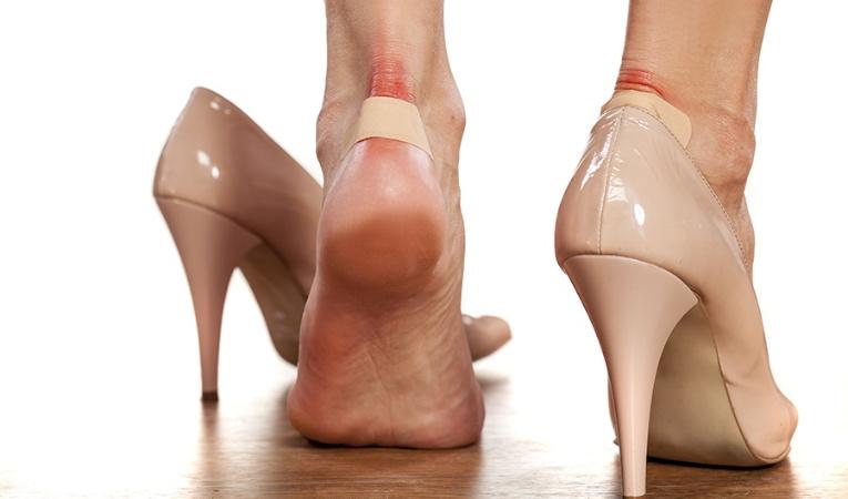Туфли натирают ноги