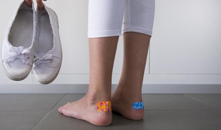 Кеды натирают ноги